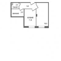 Однокомнатные квартиры в «ЗемлЯнино»