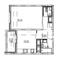 Однокомнатные квартиры в «ЗимаЛето»