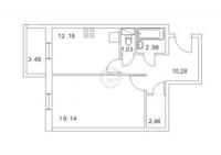 Однокомнатные квартиры в «Золотой век»