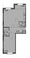 Двухкомнатные квартиры в «Английская миля»