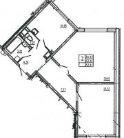 Двухкомнатные квартиры в «Аврора-2»