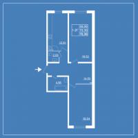 Двухкомнатные квартиры в «Бельгийский квартал»