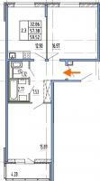 Двухкомнатные квартиры в «Чистое небо»