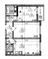 Двухкомнатные квартиры в «Цветной город»