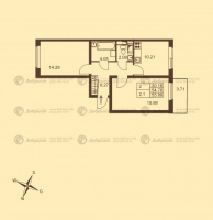Двухкомнатные квартиры в «Добрыня»