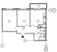 Двухкомнатные квартиры в «Дом на Обручевых»