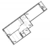 Двухкомнатные квартиры в «Европейский»