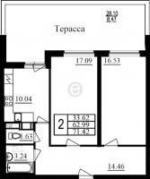 Двухкомнатные квартиры в «Фламинго»