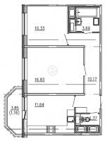 Двухкомнатные квартиры в GreenЛандия