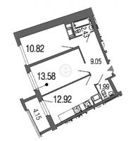 Двухкомнатные квартиры в Green City («Грин сити»)