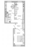 Двухкомнатные квартиры в «Кантемировский»