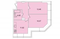 Двухкомнатные квартиры в «Капитал»