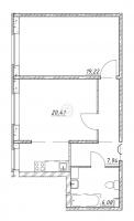 Двухкомнатные квартиры в «Клёны»