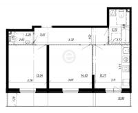 Двухкомнатные квартиры в «UP! Комендантский»