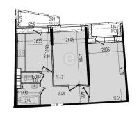 Двухкомнатные квартиры в «Малая охта»