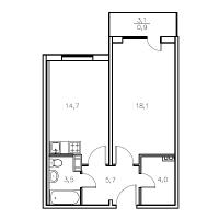 Двухкомнатные квартиры в «Мандарин»