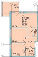 Двухкомнатные квартиры в Mistola Hills («Мистола Хиллс»)