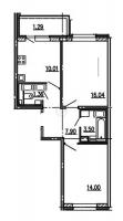 Двухкомнатные квартиры в More («Море»)