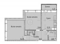 Двухкомнатные квартиры в «Мурино 2017»
