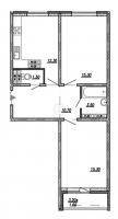 Двухкомнатные квартиры в «Невская Звезда»