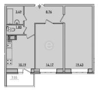 Двухкомнатные квартиры в «Новое Мурино»