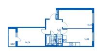 Двухкомнатные квартиры в «Новый Петергоф»
