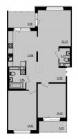 Двухкомнатные квартиры в «Образцовый квартал-2»
