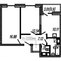 Двухкомнатные квартиры в «Огни Залива»