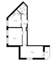Двухкомнатные квартиры в «Северный вальс»