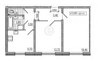 Двухкомнатные квартиры в CINEMA («Синема»)