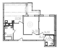 Двухкомнатные квартиры в «Сириус»