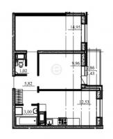 Двухкомнатные квартиры в «Старая крепость»
