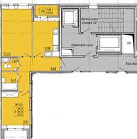 Двухкомнатные квартиры в «Стереос» (Stereos)