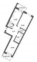 Двухкомнатные квартиры в «Три ветра»