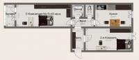 Двухкомнатные квартиры в «Вариант»