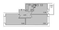 Двухкомнатные квартиры в «Весна-2»