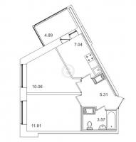 Двухкомнатные квартиры в «Весна-3»