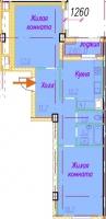 Двухкомнатные квартиры в «Времена Года»