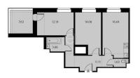 Двухкомнатные квартиры в «Высота»