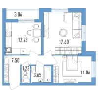 Двухкомнатные квартиры в «Yoga»