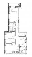 Двухкомнатные квартиры в «Юнтолово»