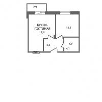 Двухкомнатные квартиры в «ЗемлЯнино»