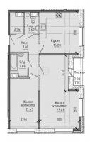 Двухкомнатные квартиры в «Живи! В Рыбацком!»