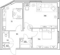 Двухкомнатные квартиры в «Золотые купола»