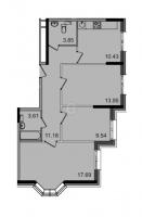 Трехкомнатные квартиры в «Английская миля»