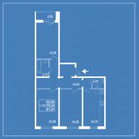 Трехкомнатные квартиры в «Бельгийский квартал»