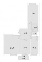 Трехкомнатные квартиры в «ЭкспоГрад»