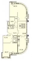 Трехкомнатные квартиры в «Граф Орлов»