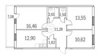 Трехкомнатные квартиры в «Граффити»
