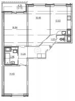 Трехкомнатные квартиры в GreenЛандия